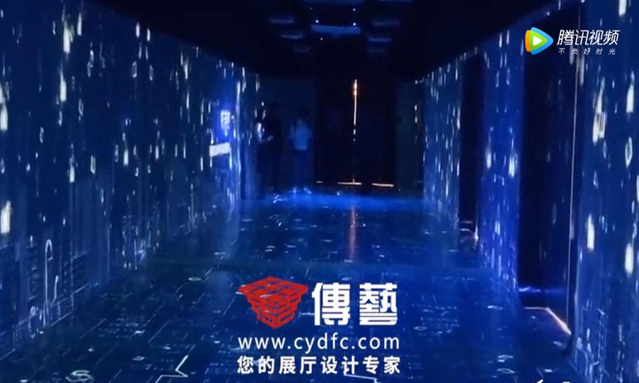 沉浸式影像走廊展示案例