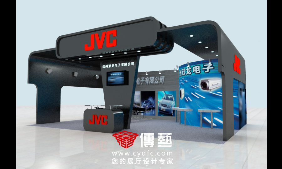 JVC展台