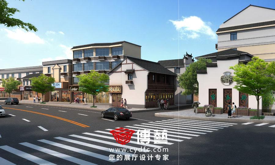 桐庐县富春路景观提升设计