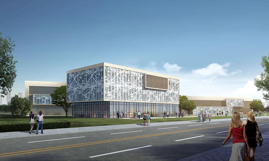 江西生态农业科技公司办公楼设计